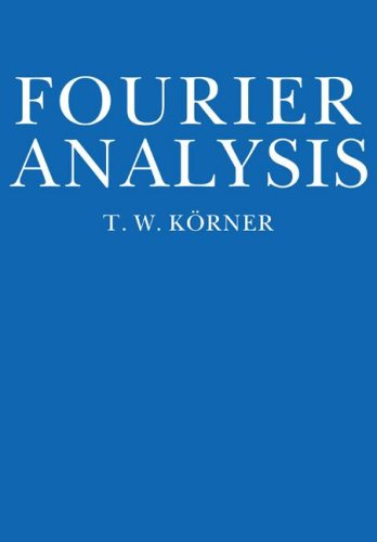 Fourier Analysis   1989 edition cover