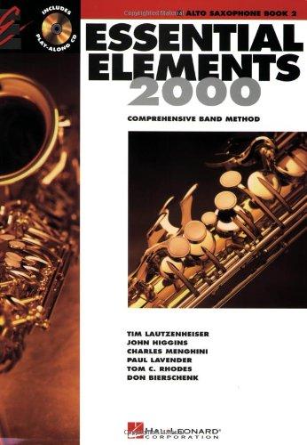 Essential Elements 2000 Eb Alto Saxophone N/A edition cover