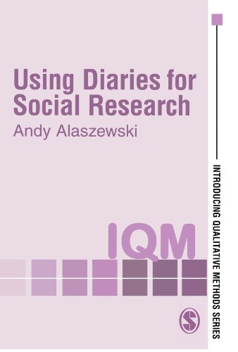 Using Diaries for Social Research   2006 9780761972914 Front Cover