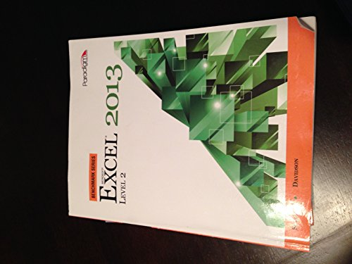 EXCEL 2013 LEVEL 2-W/CD        N/A edition cover