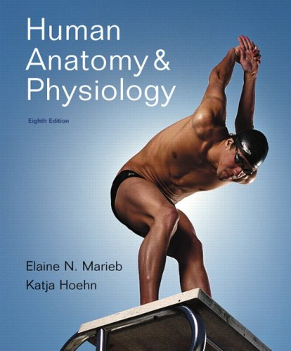 Human Anatomy and Physiology  8th 2010 edition cover