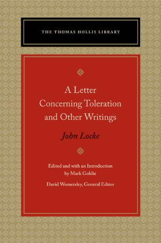 Letter Concerning Toleration and Other Writings   2010 edition cover