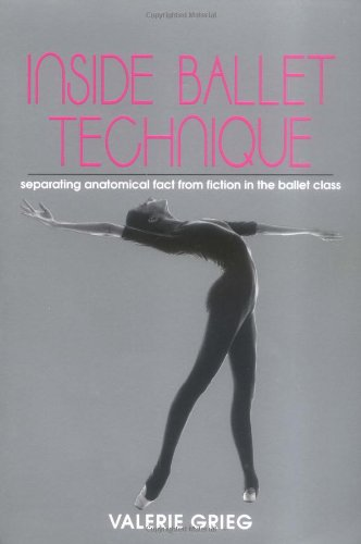Inside Ballet Technique Separating Anatomical Fact from Fiction in the Ballet Class  1994 edition cover