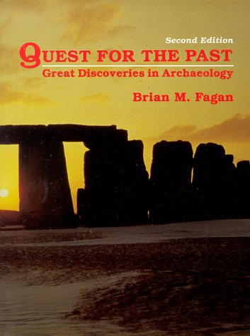 Quest for the Past Great Discoveries in Archaeology 2nd 1994 edition cover