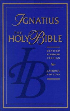 Ignatius Bible 1st edition cover
