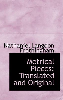 Metrical Pieces: Translated and Original  2009 edition cover