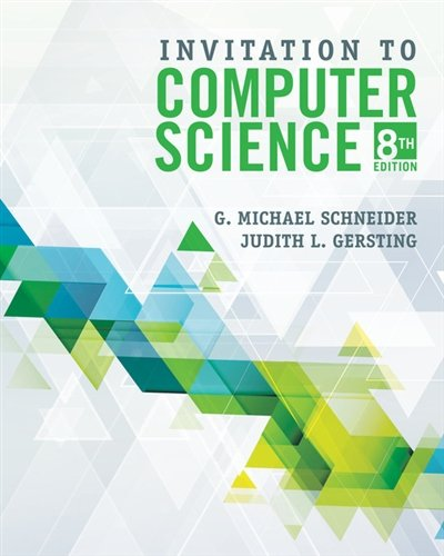 Invitation to Computer Science:   2018 9781337561914 Front Cover