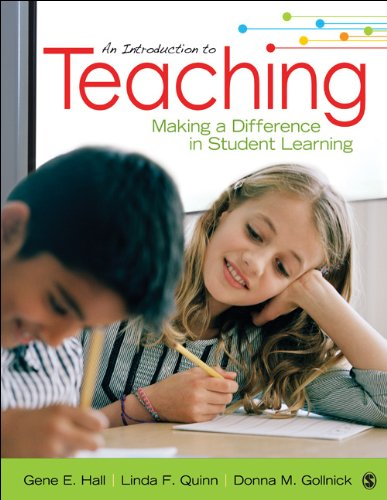 Introduction to Teaching Making a Difference in Student Learning  2014 edition cover