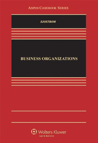 Business Organizations: A Transactional Approach  2013 edition cover
