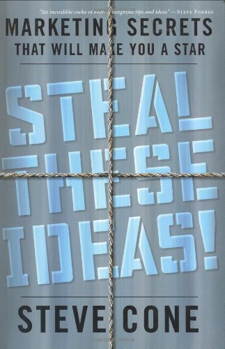 Steal These Ideas! Marketing Secrets That Will Make You a Star  2005 9781576601914 Front Cover