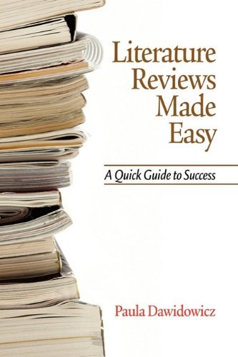 Literature Reviews Made Easy A Quick Guide to Success  2010 9781617351914 Front Cover