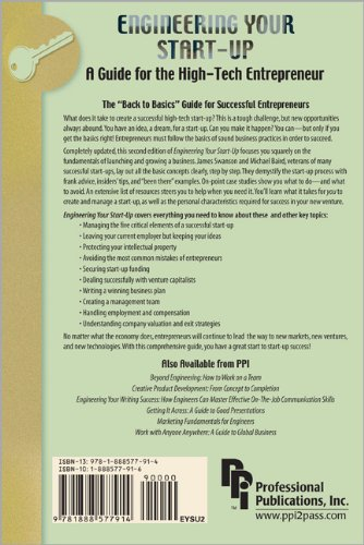 Engineering Your Start-Up A Guide for the High-Tech Entrepreneur 2nd 2003 (Revised) edition cover