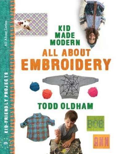 All about Embroidery   2012 9781934429914 Front Cover