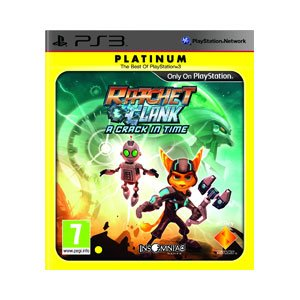 Ratchet and Clank: A Crack in Time - Platinum Edition (PS3) PlayStation 3 artwork