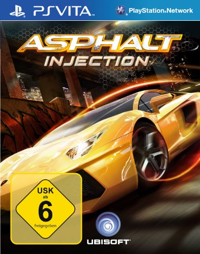 Asphalt Injection PlayStation Vita artwork
