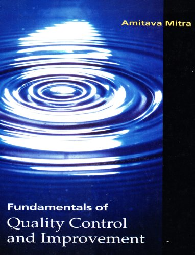 Fundamentals of Quality Control and Improvement  1st 1993 edition cover