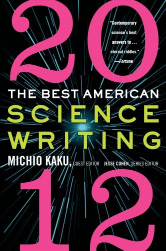 Best American Science Writing 2012   2012 edition cover