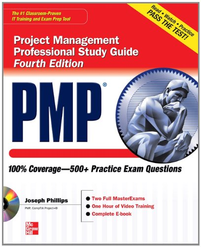 PMP - Project Management Professional  4th 2013 edition cover