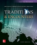 Traditions and Encounters A Global Perspective on the Past 6th 2015 edition cover