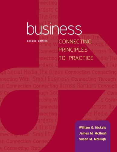 Business: Connecting Principles to Practice with Connect Plus  2nd 2014 edition cover
