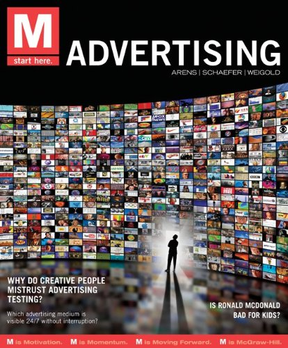 M - Advertising   2012 edition cover