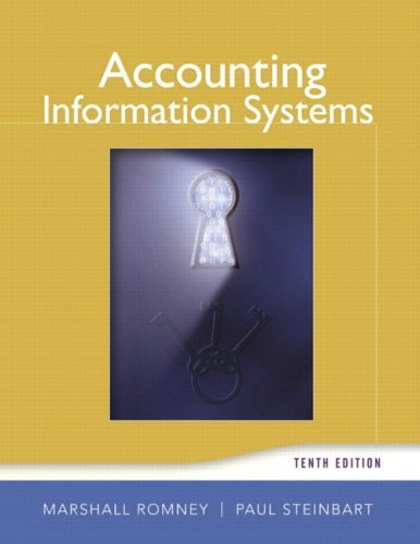 Accounting Information Systems  10th 2006 edition cover