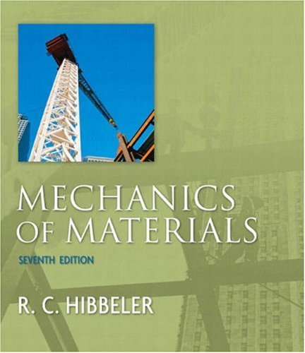 Mechanics of Materials  7th 2008 edition cover