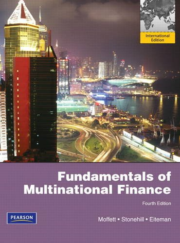 Fundamentals of Multinational Finance  4th 2012 (Revised) 9780132829915 Front Cover