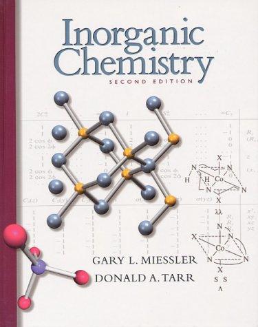 Inorganic Chemistry  2nd 1999 edition cover
