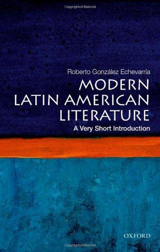 Modern Latin American Literature   2012 edition cover