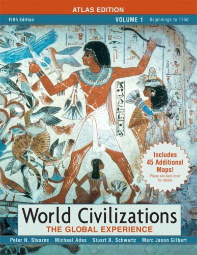 World Civilizations The Global Experience 5th 2007 edition cover