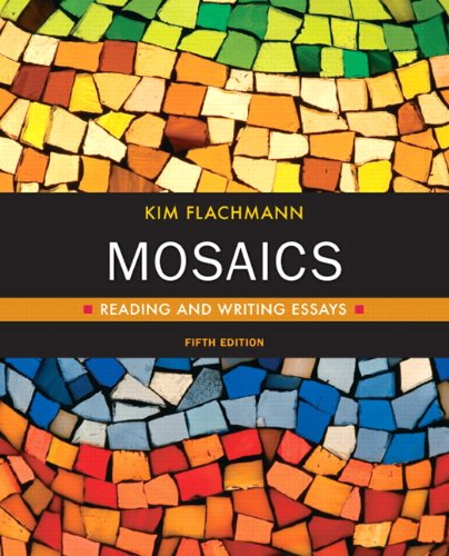 Mosaics Reading and Writing Essays 5th 2011 (Revised) edition cover