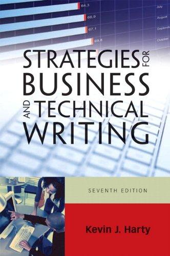 Strategies for Business and Technical Writing  7th 2011 edition cover