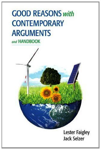 Good Reasons with Contemporary Arguments and Handbook   2014 edition cover