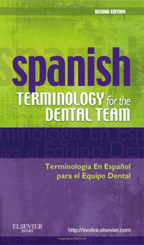 Spanish Terminology for the Dental Team  2nd 2010 edition cover