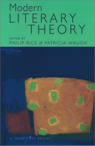 Modern Literary Theory  4th 2001 (Revised) edition cover