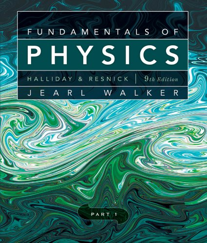 Fundamentals of Physics  9th 2011 edition cover