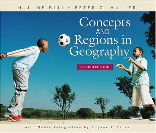Concepts and Regions in Geography  2nd 2005 (Revised) edition cover