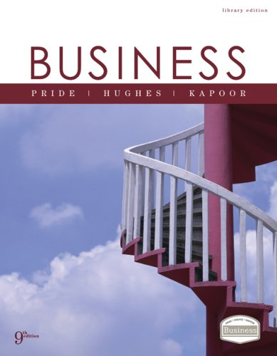 Business  9th 2008 edition cover