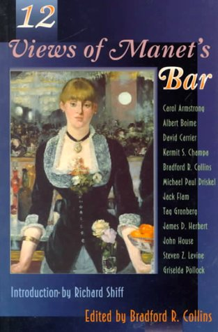 Twelve Views of Manet's Bar   1996 edition cover