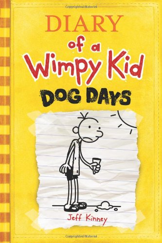 Diary of a Wimpy Kid # 4 - Dog Days   2009 9780810983915 Front Cover