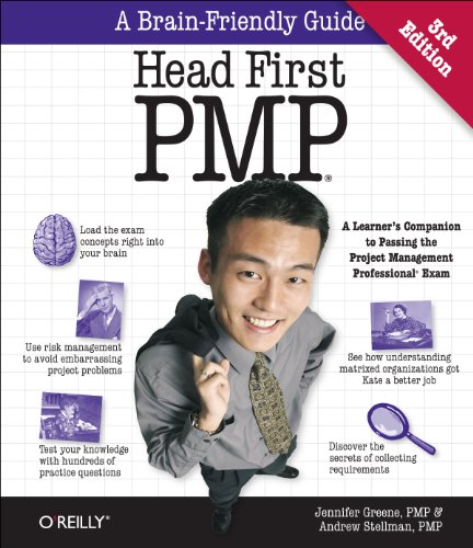 Head First PMP  3rd 2013 9781449364915 Front Cover