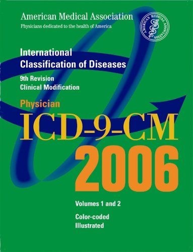 AMA Physician ICD-9-CM Volumes 1 And 2 : International Classification of Diseases 1st edition cover