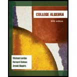 COLLEGE ALGEBRA 5th 2008 edition cover