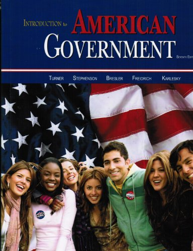 INTRO.TO AMERICAN GOVERNMENT            N/A edition cover