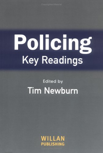 Policing Key Readings  2004 edition cover