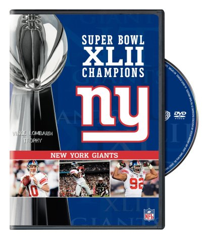 NFL Super Bowl XLII - New York Giants Championship DVD System.Collections.Generic.List`1[System.String] artwork