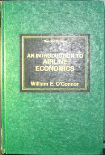 Introduction to Airline Economics  2nd 1982 edition cover