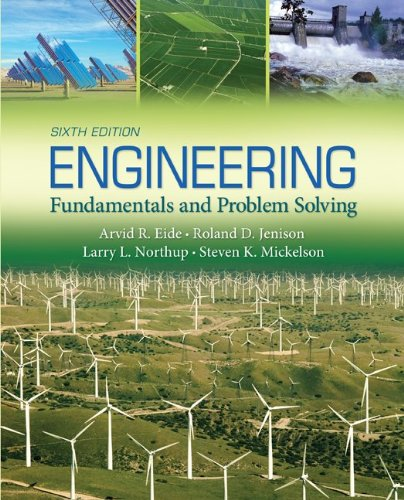 Engineering Fundamentals and Problem Solving  6th 2012 edition cover