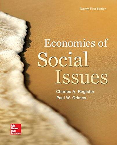 Economics of Social Issues:   2015 9780078021916 Front Cover